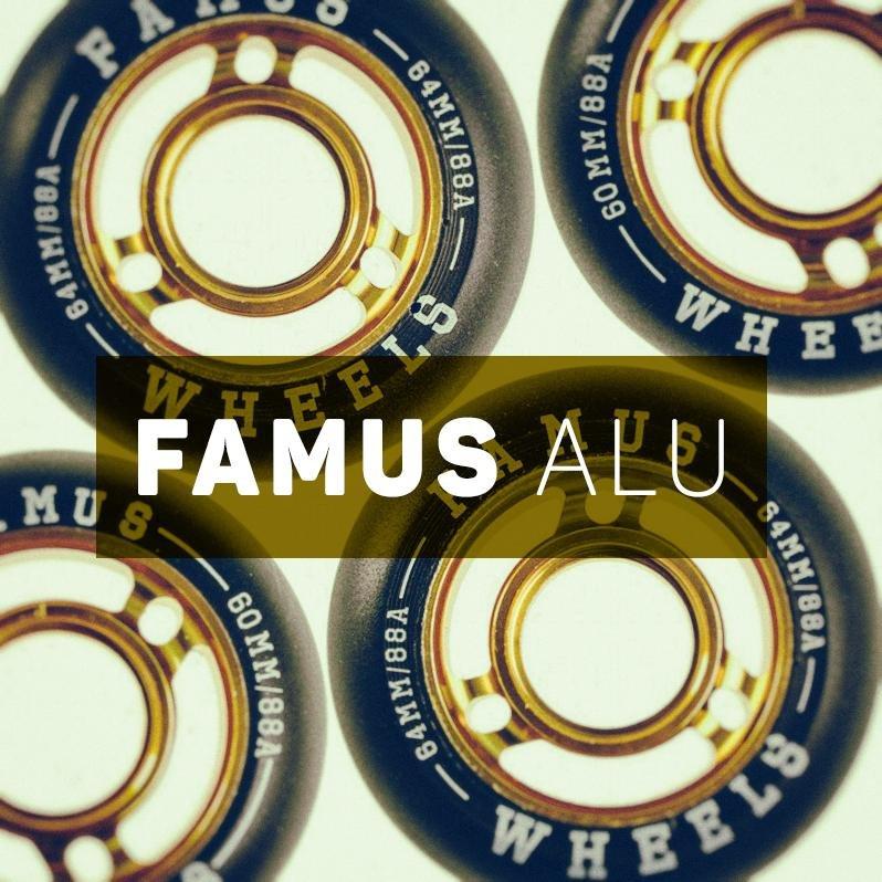 Super szybkie kółka do jazdy agresywnej z metalowym rdzeniem - Famus