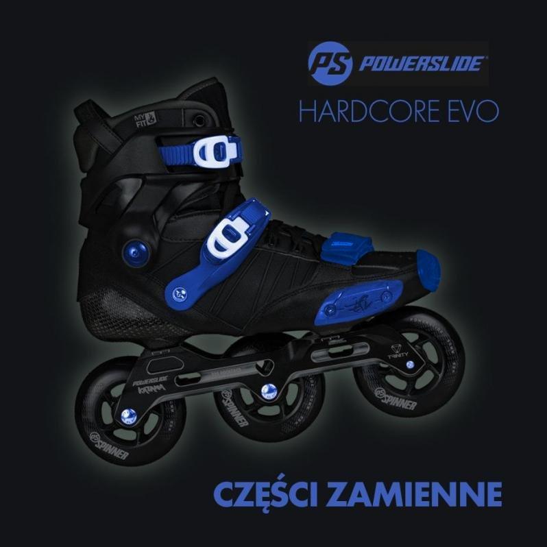Powerslide Hardcore EVO - Spis części zamiennych