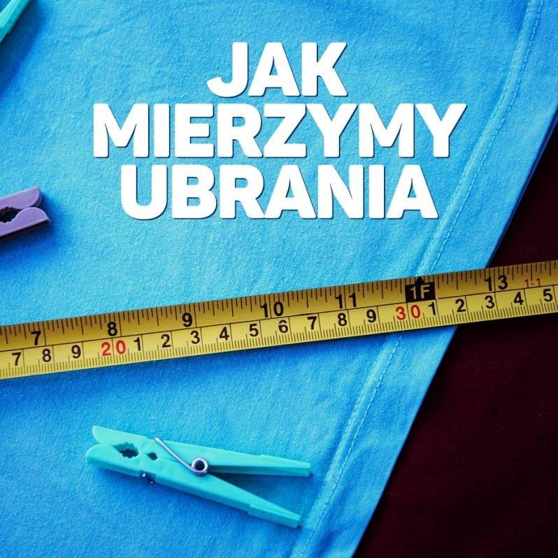 Jak mierzymy ubrania