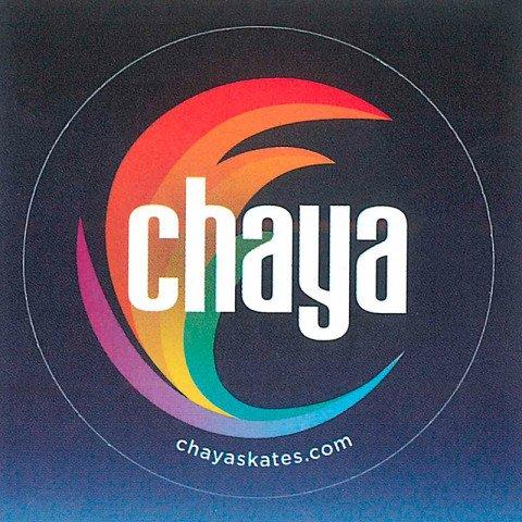 Banery / Naklejki / Plakaty - Chaya Logo Sticker - Colored - Zdjęcie 1