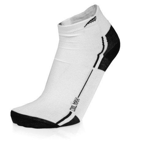 Skarpetki - Powerslide Core Socks II - Biało/Czarne (3szt.) - Zdjęcie 1