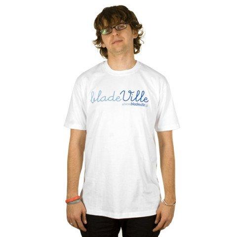 Koszulki - Koszulka Bladeville Logo Dot.ComT-shirt - Biały - Zdjęcie 1