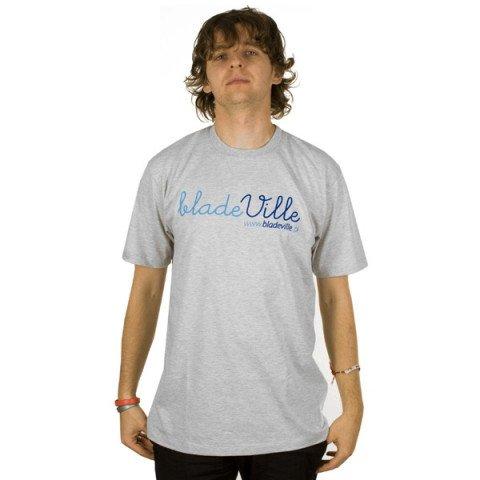 Koszulki - Koszulka Bladeville Logo Dot.Com T-shirt - Jasny Melanż - Zdjęcie 1