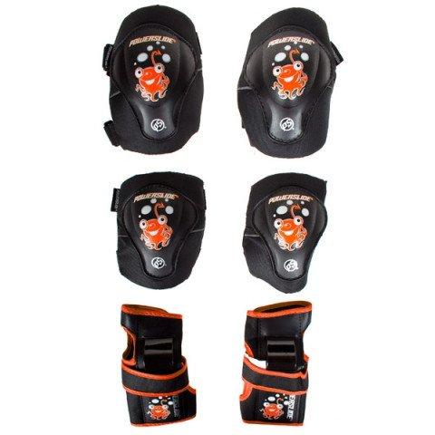 Ochraniacze - Ochraniacze Powerslide Kids Standard Tri Pack - Czerwony - Zdjęcie 1