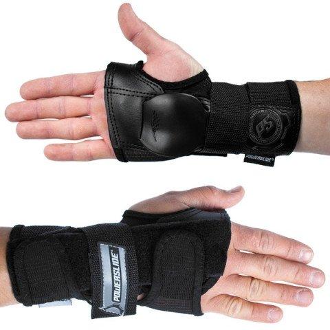 Ochraniacze - Ochraniacze Powerslide Standard Wristguards - Czarne - Zdjęcie 1