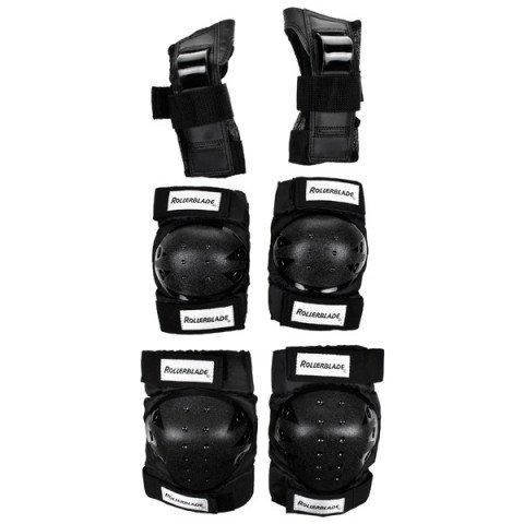 Ochraniacze - Ochraniacze Rollerblade Blade Gear Jr Tri-Pack - Czarne - Zdjęcie 1