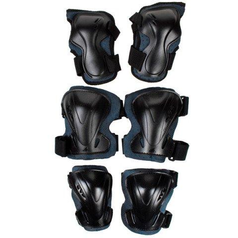 Ochraniacze - Ochraniacze Rollerblade Pro Tri-Pack - Antracytowo/Czarne - Zdjęcie 1