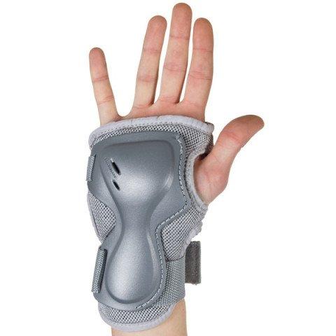 Ochraniacze - Ochraniacze Rollerblade Pro N Activa Wristguard W - Srebrne - Zdjęcie 1