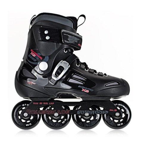 Rolki - Rolki Rollerblade Fusion X5 10 - Antracytowo/Czarne - Zdjęcie 1