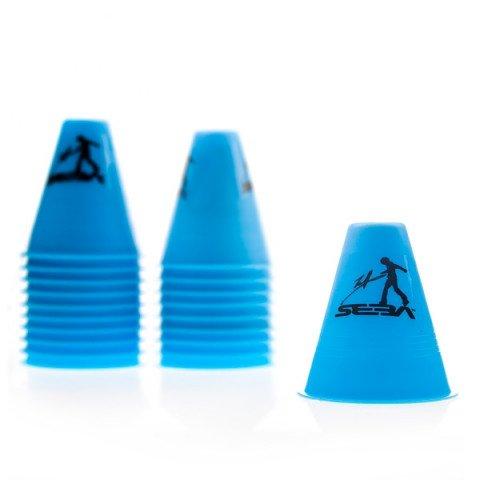 Kubeczki do Slalomu - Seba Slalom Cones - Niebieskie (20 szt.) - Zdjęcie 1