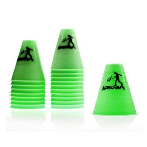 Kubeczki do Slalomu - Seba Slalom Cones - Zielone (20 szt.) - Zdjęcie 1
