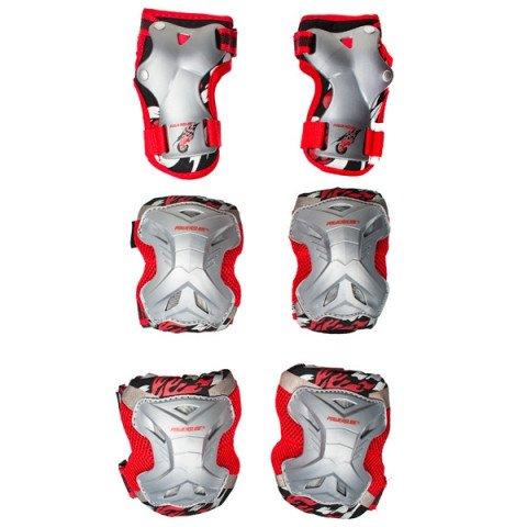 Ochraniacze - Ochraniacze Powerslide Kids Robot 10 - Tri-Pack - Zdjęcie 1