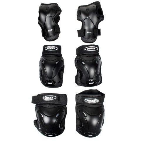 Ochraniacze - Ochraniacze Roces Standard Ventilated 3 Pack 10 - Czarne - Zdjęcie 1
