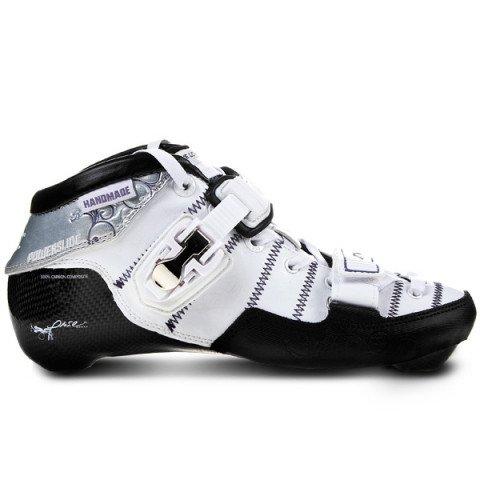 Rolki - Rolki Powerslide Speed Venom Pure - Boot Only - Biało/Czarne - Zdjęcie 1