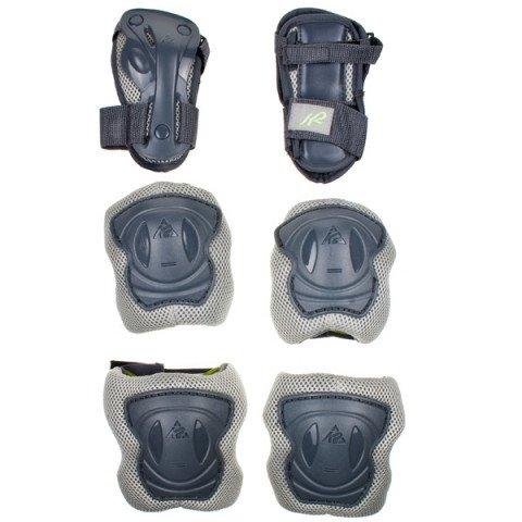 Ochraniacze - Ochraniacze K2 Andra 10 Tri-Pack - Szare - Zdjęcie 1