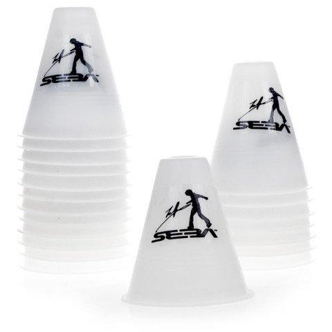 Kubeczki do Slalomu - Seba Slalom Cones - Białe (20 szt.) - Zdjęcie 1