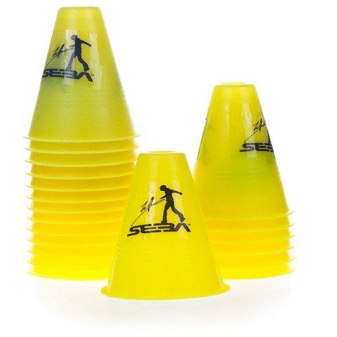 Kubeczki do Slalomu - Seba Slalom Cones - Żółte (20 szt.) - Zdjęcie 1
