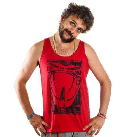 Koszulki - Koszulka Vicious Snake Tank Top 10 - Czerwony - Zdjęcie 1