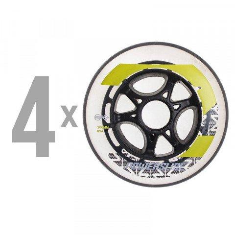 Kółka - Kółka do Rolek Powerslide Phuzion Krypton Voltage 100mm/86A (4 szt.) - Zdjęcie 1